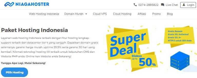 web hosting terbaik indonesia no 1