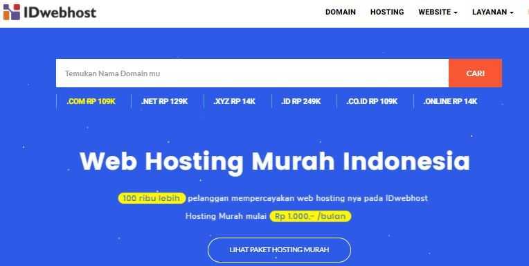 web hosting terbaik indonesia no 2
